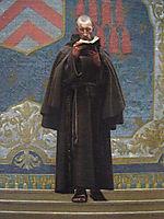 The Grey Cardinal, detail 2, 1873, gerome