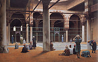 Interior of a Mosque, 1870, gerome