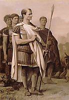 Julius Caesar and Staff, 1863, gerome