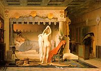 King Candaules, 1859, gerome