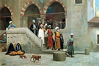 Leaving the Mosque, 18, gerome