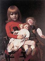 Madeleine Juliette Gerome and Her Dolls, 18, gerome