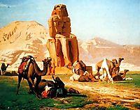 Memnon and Sesostris, 1857, gerome