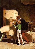 Michelangelo, 1849, gerome