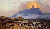Moses on Mount Sinai, 1895-1900, gerome