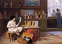 Painting Breathes Life into Sculpture, 1893, gerome
