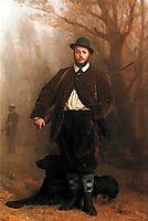 Portrait of Eduoard Delessert, 1864, gerome
