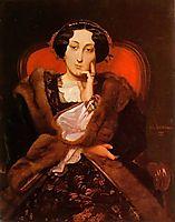 Portrait of a Lady, 1851, gerome
