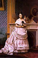 Portrait of a Lady, 1866-1870, gerome