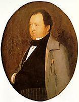 Portrait of M. Leblond, 1844, gerome