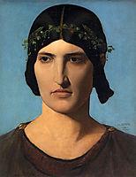 Portrait of a Roman Woman, 1843, gerome