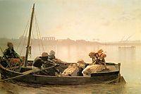 The Prisoner, 1861, gerome