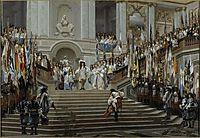 Reception of Le Grand Condé at Versailles, 1878, gerome