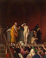 Slave Market in Rome, c.1884, gerome