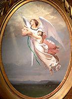A Soul Taken away by an Angel , 1853, gerome