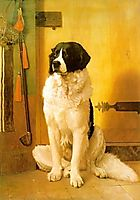 Study of a Dog, 1852, gerome