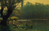 Summer Afternoon on a Lake, 1895, gerome