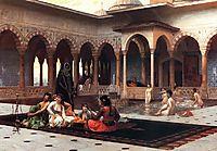 The Terrace of the Seraglio, gerome