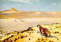 Tiger on the Watch, 18, gerome