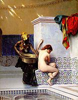 Turkish Bath or Moorish Bath, Two Women, 1872, gerome