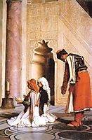 Young Greeks at the Mosque, 1865, gerome