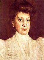 Anna Baumer, c.1902, gerstl