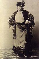 The singer Oberländer, 1907, gerstl