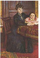 Double portrait of Matilda and Gertrude Schonberg, 1906, gerstl