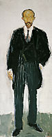 Ernst Diez I, 1906, gerstl