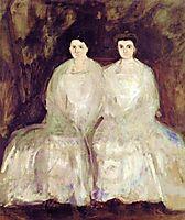 The Fey Sisters (Karoline & Pauline), 1905, gerstl