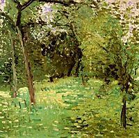 Flowering Meadow with Trees, 1907, gerstl