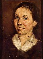 Head of a Woman, c.1902, gerstl