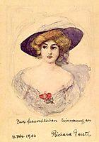 Ideal image of Trude Geiringer, 1906, gerstl