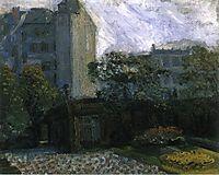 Liechtenstein Palace, 1907, gerstl