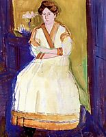 Mathilde Schoenberg II, 1907, gerstl
