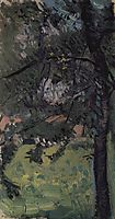 Study of tree, 1907, gerstl
