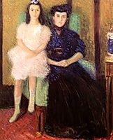 Mother and Daughter, 1906, gerstl
