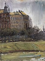 On the Danube Canal, 1907, gerstl