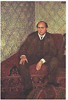Portrait of Arnold Schonberg , 1906, gerstl