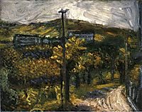 The road (theme from Nussdorf), 1907, gerstl