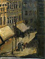Small street (Nußdorferstraße), 1908, gerstl
