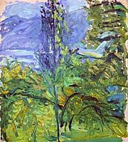 Small Traunsee Landscape, 1907, gerstl