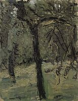 Sunny meadow with fruit trees, c.1908, gerstl