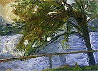 Tree on Lake Traun, 1907, gerstl