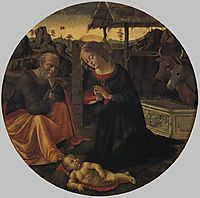 Adoration of the Child, ghirlandaio