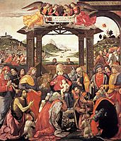 The Adoration of the Magi, 1488, ghirlandaio