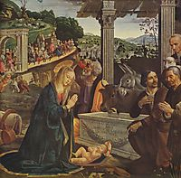 Adoration of the Shepherds, 1485, ghirlandaio