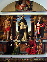 Altarpiece of St. Vincent Ferrer, ghirlandaio