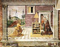 Annunciation, 1482, ghirlandaio