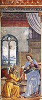 The Annunciation, 1490, ghirlandaio